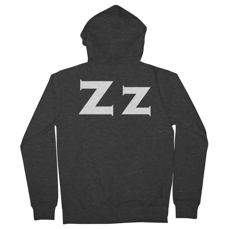 zak Men's French Terry Zip-Up Hoody by Brett Jordan's Artist Shop