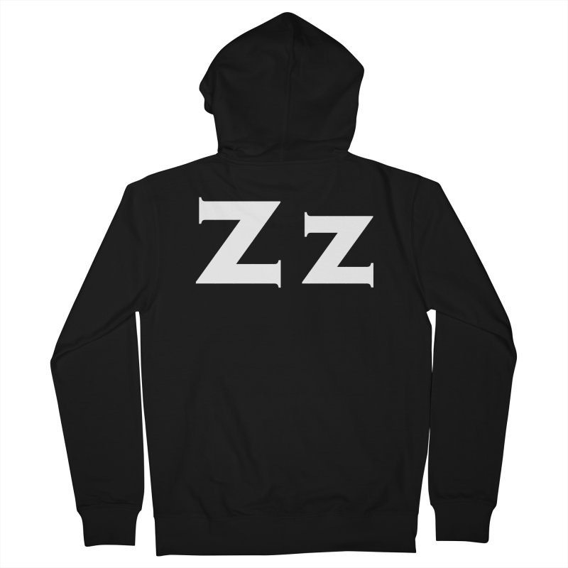 zak Men's French Terry Zip-Up Hoody by Brett Jordan's Artist Shop