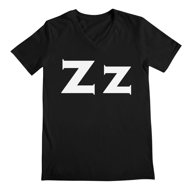zak Men's Regular V-Neck by Brett Jordan's Artist Shop