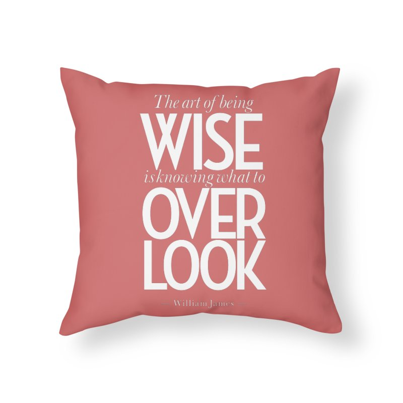 True Wisdom Home Throw Pillow by Brett Jordan's Artist Shop