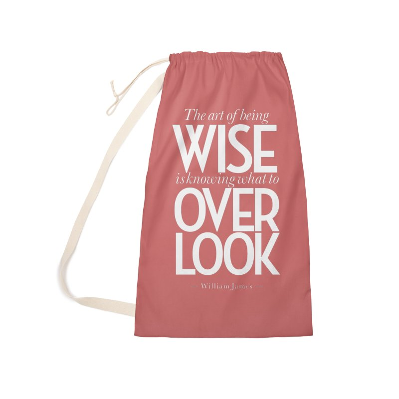 True Wisdom Accessories Laundry Bag Bag by Brett Jordan's Artist Shop
