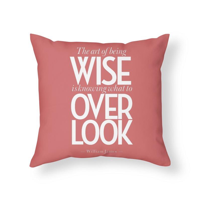True Wisdom Home Throw Pillow by Brett Jordan's Artist Shop