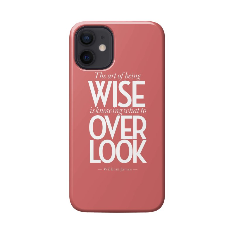 True Wisdom Accessories Phone Case by Brett Jordan's Artist Shop