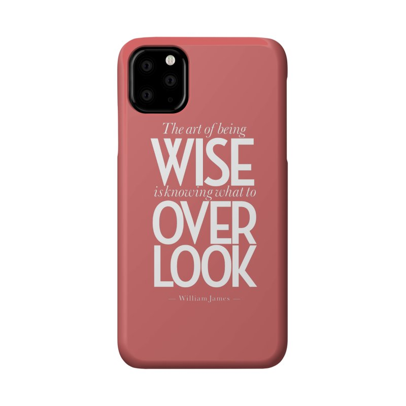 True Wisdom Accessories Phone Case by Brett Jordan's Artist Shop