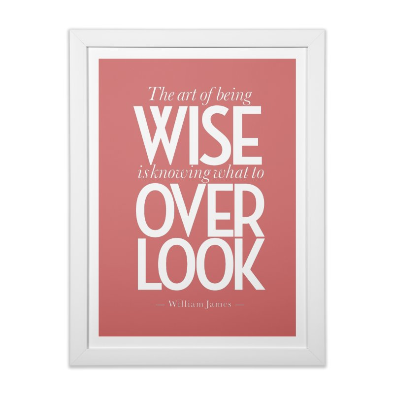 True Wisdom Home Framed Fine Art Print by Brett Jordan's Artist Shop