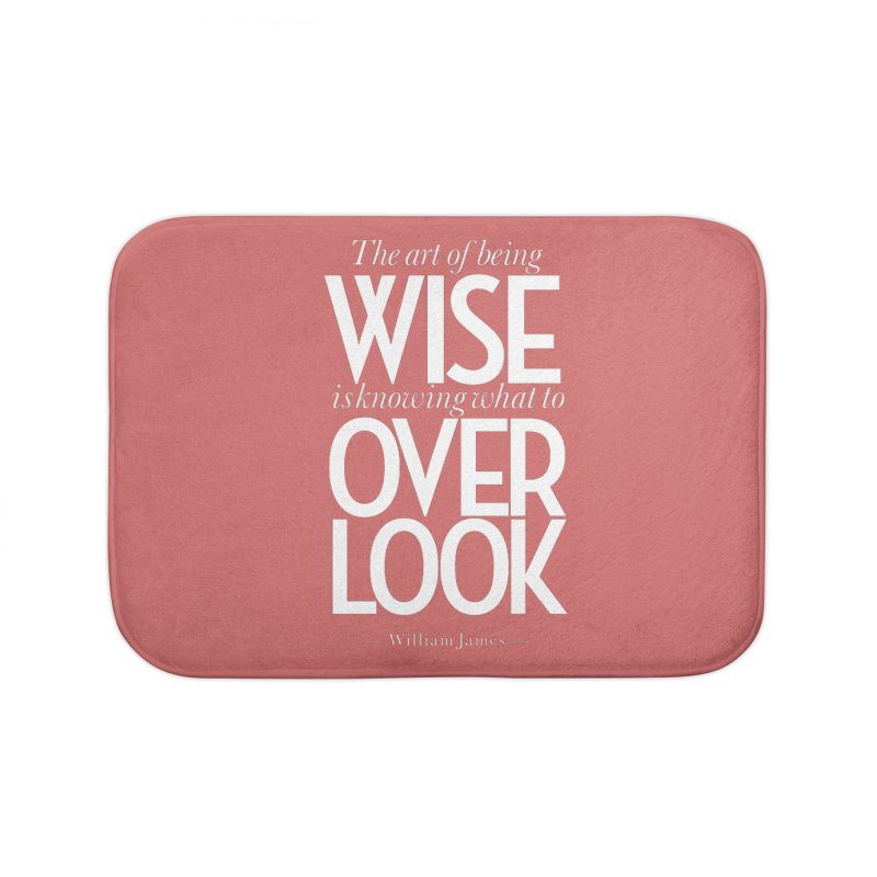True Wisdom Home Bath Mat by Brett Jordan's Artist Shop