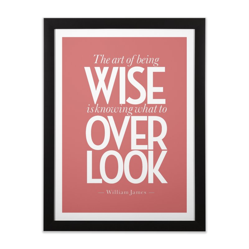 True Wisdom Home Framed Fine Art Print by Brett Jordan's Artist Shop