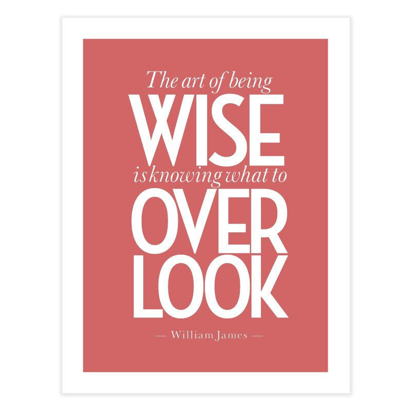 True Wisdom Home Fine Art Print by Brett Jordan's Artist Shop