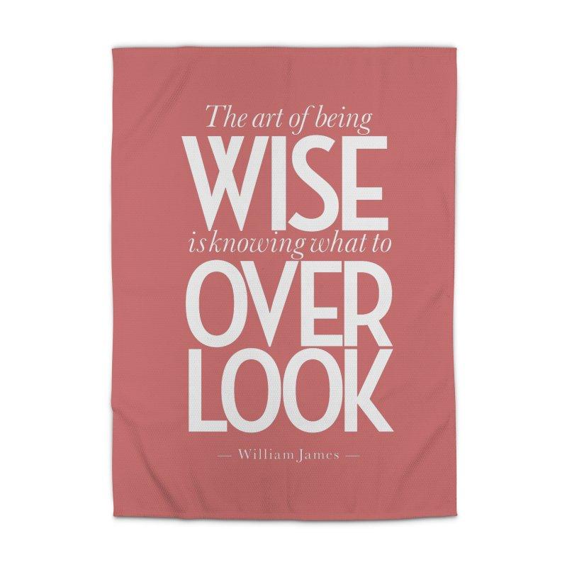 True Wisdom Home Rug by Brett Jordan's Artist Shop