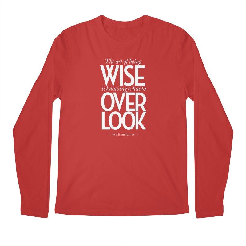 True Wisdom Men's Regular Longsleeve T-Shirt by Brett Jordan's Artist Shop