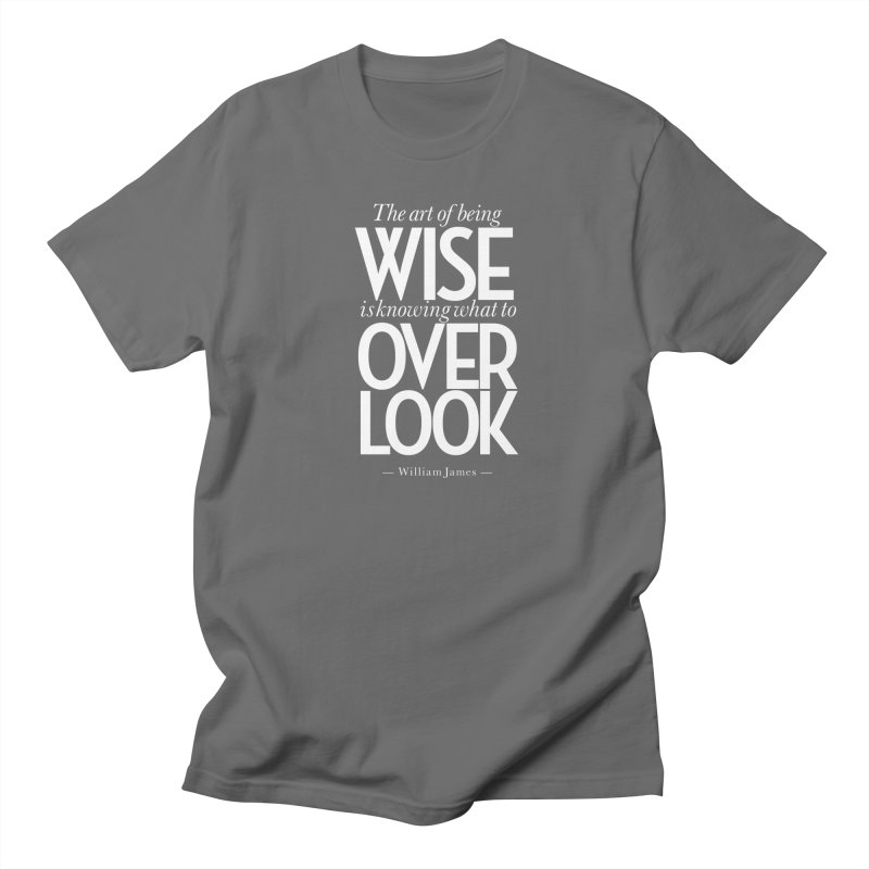 True Wisdom Men's T-Shirt by Brett Jordan's Artist Shop