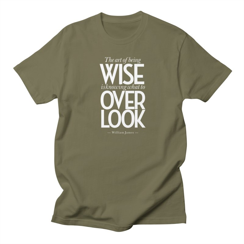 True Wisdom Women's Regular Unisex T-Shirt by Brett Jordan's Artist Shop