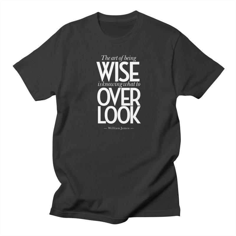 True Wisdom Men's Regular T-Shirt by Brett Jordan's Artist Shop