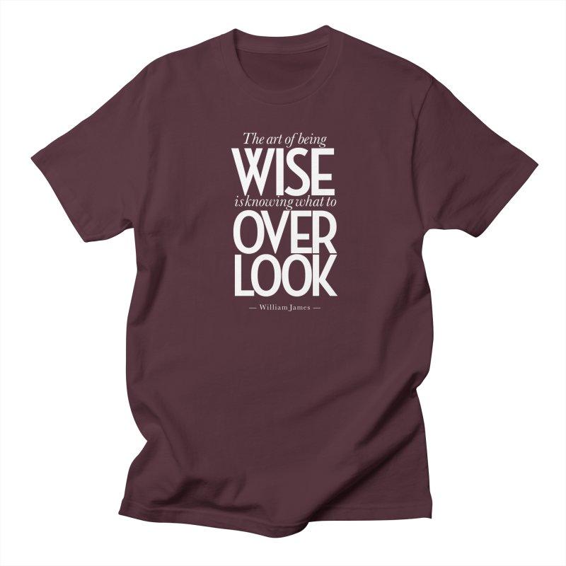 True Wisdom Women's Regular Unisex T-Shirt by Brett Jordan's Artist Shop