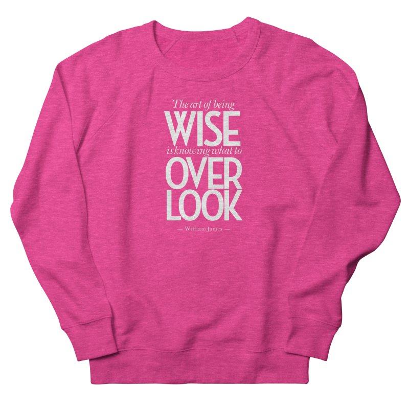 True Wisdom Men's French Terry Sweatshirt by Brett Jordan's Artist Shop