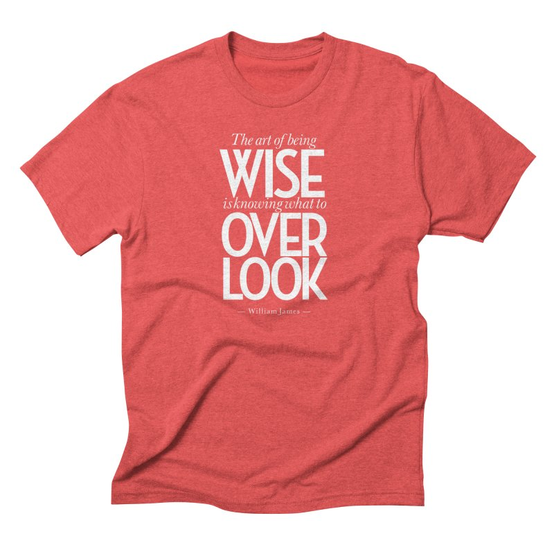 True Wisdom Men's Triblend T-Shirt by Brett Jordan's Artist Shop