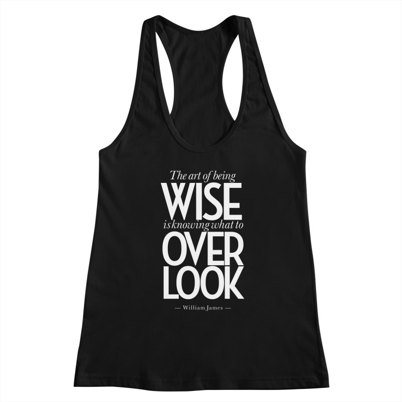 True Wisdom Women's Tank by Brett Jordan's Artist Shop