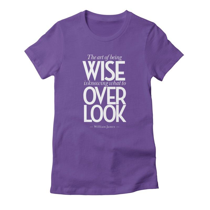True Wisdom Women's T-Shirt by Brett Jordan's Artist Shop