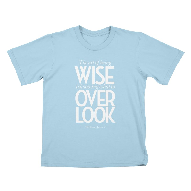 True Wisdom Kids T-Shirt by Brett Jordan's Artist Shop