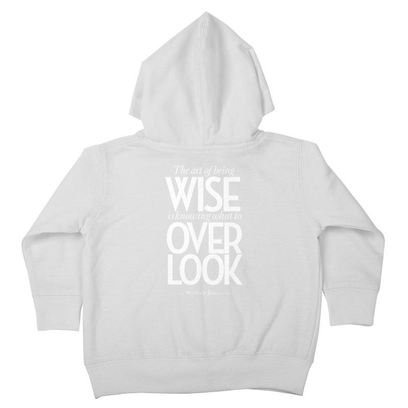 True Wisdom Kids Toddler Zip-Up Hoody by Brett Jordan's Artist Shop