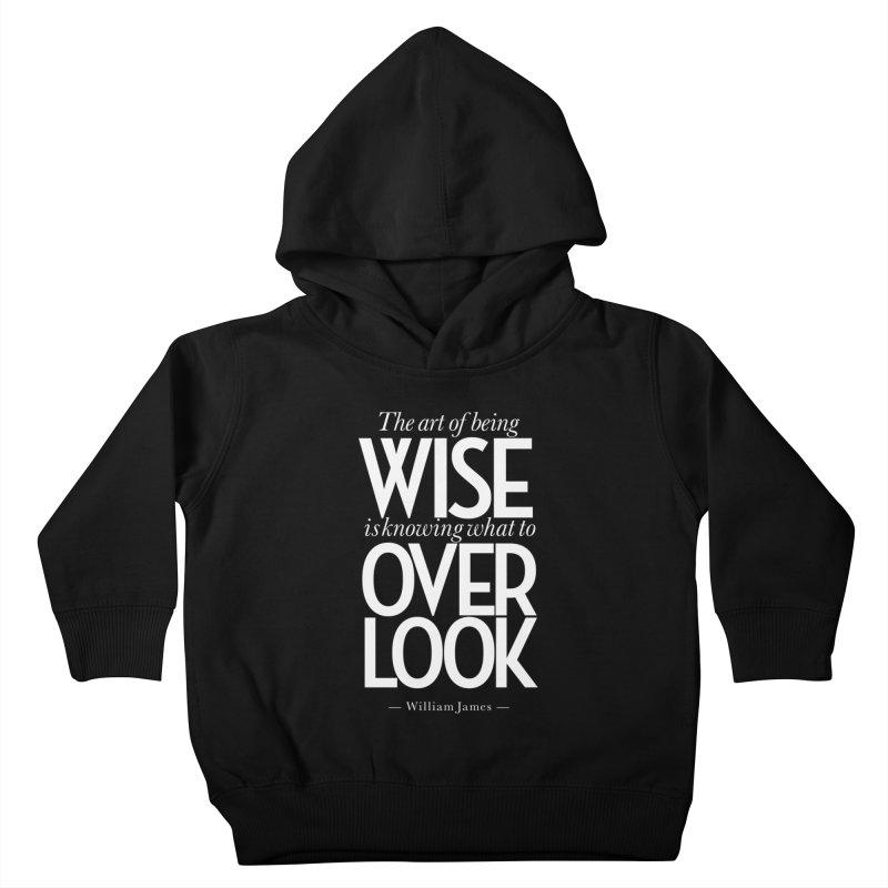 True Wisdom Kids Toddler Pullover Hoody by Brett Jordan's Artist Shop