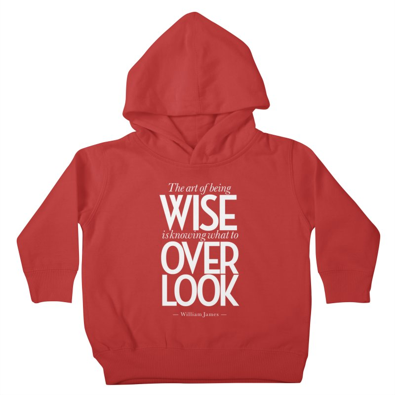 True Wisdom Kids Toddler Pullover Hoody by Brett Jordan's Artist Shop