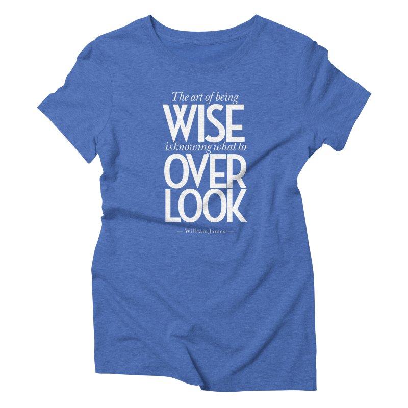 True Wisdom Women's Triblend T-Shirt by Brett Jordan's Artist Shop