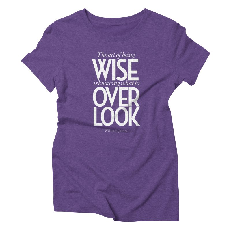 True Wisdom Women's Triblend T-Shirt by Brett Jordan's Artist Shop