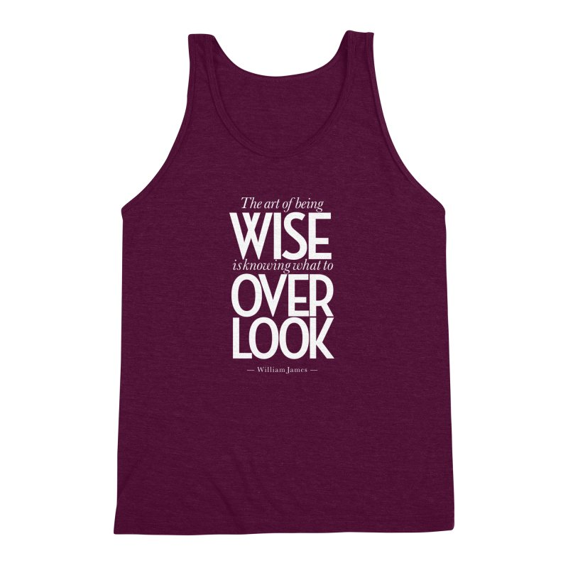 True Wisdom Men's Triblend Tank by Brett Jordan's Artist Shop