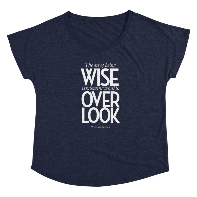 True Wisdom Women's Scoop Neck by Brett Jordan's Artist Shop