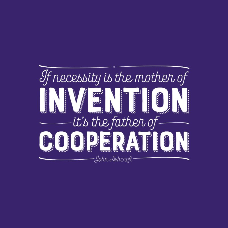 If necessity is the mother of invention... by Brett Jordan's Artist Shop