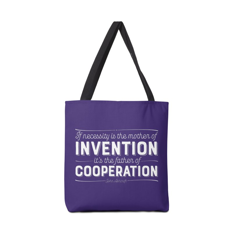 If necessity is the mother of invention... Accessories Tote Bag Bag by Brett Jordan's Artist Shop