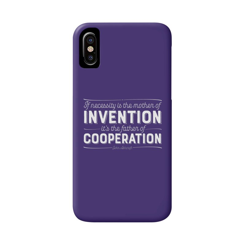 If necessity is the mother of invention... Accessories Phone Case by Brett Jordan's Artist Shop