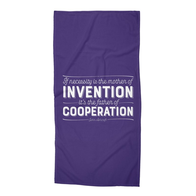 If necessity is the mother of invention... Accessories Beach Towel by Brett Jordan's Artist Shop