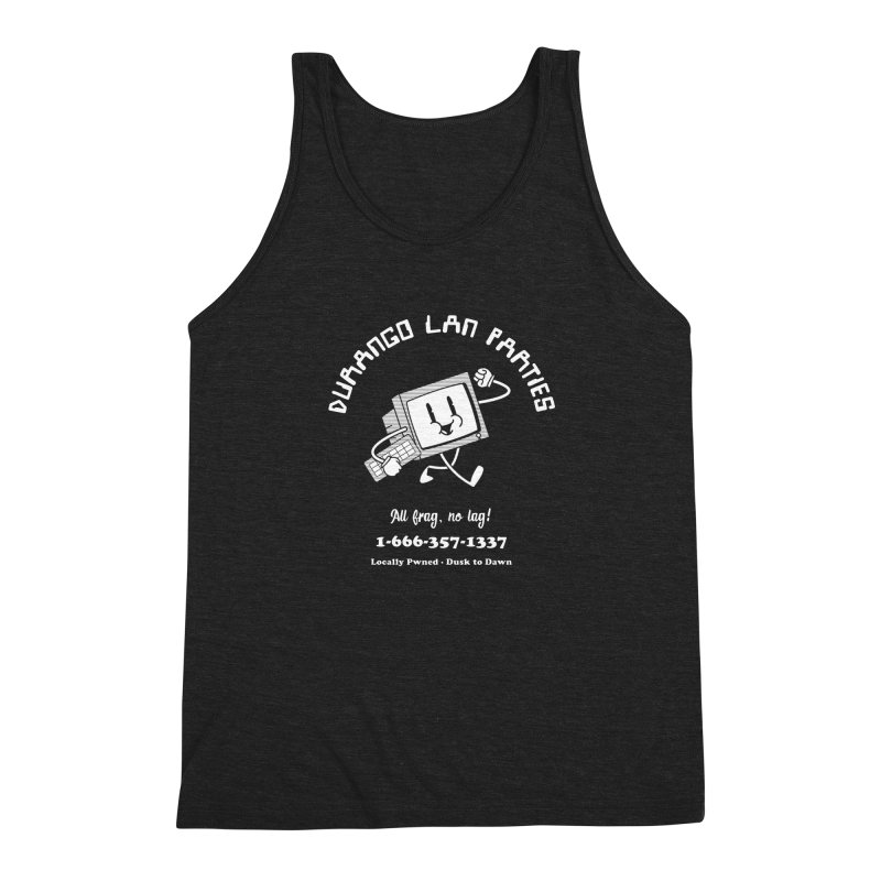 Durango LAN Parties NEGA-SHIRT Men's Tank by Brett Masse Works