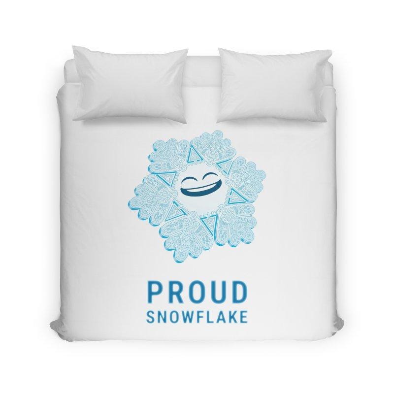 Proud Snowflake Home Duvet by BRETT WISEMAN