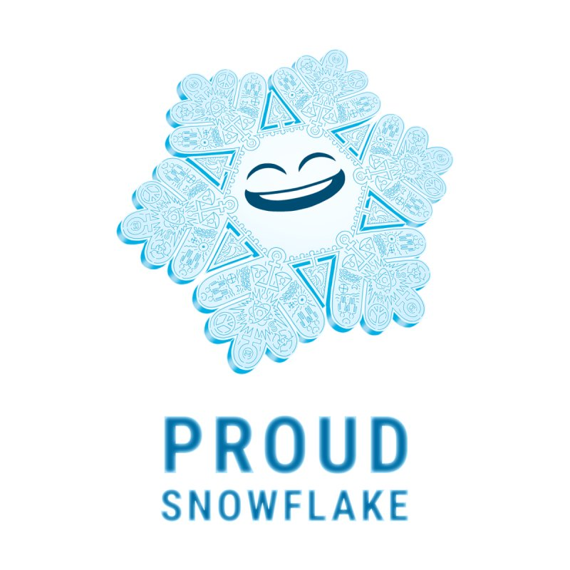Proud Snowflake Women's Scoop Neck by BRETT WISEMAN