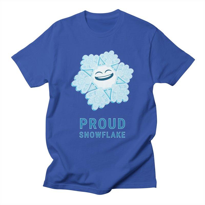 Proud Snowflake Men's T-Shirt by BRETT WISEMAN