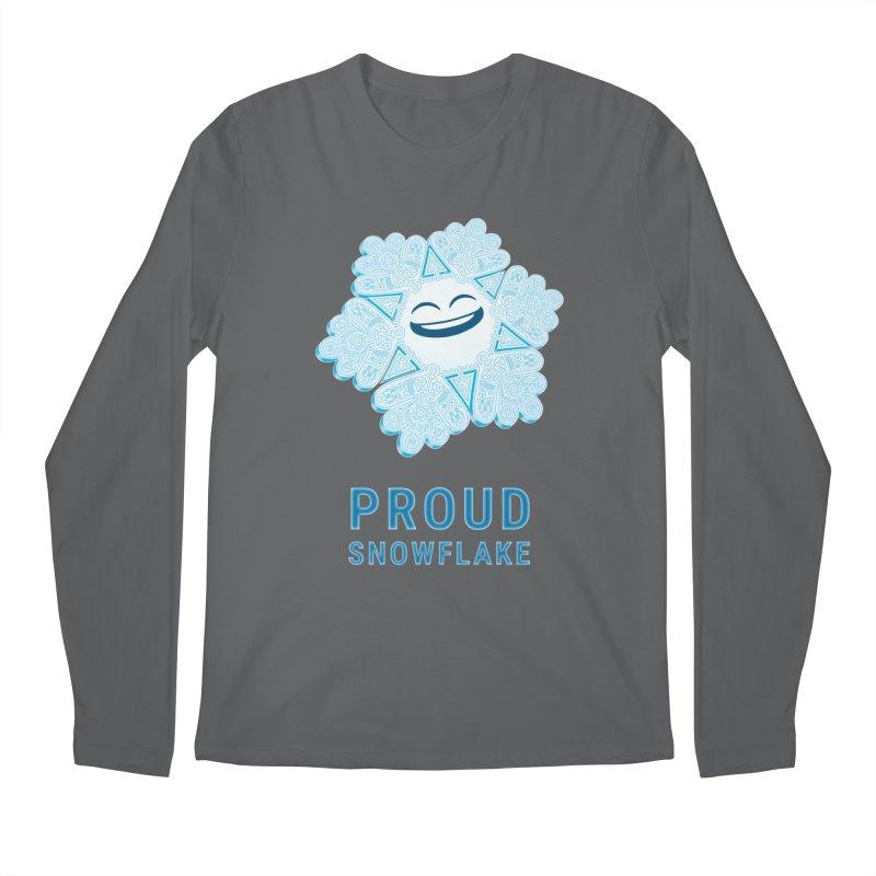 Proud Snowflake Men's Longsleeve T-Shirt by BRETT WISEMAN