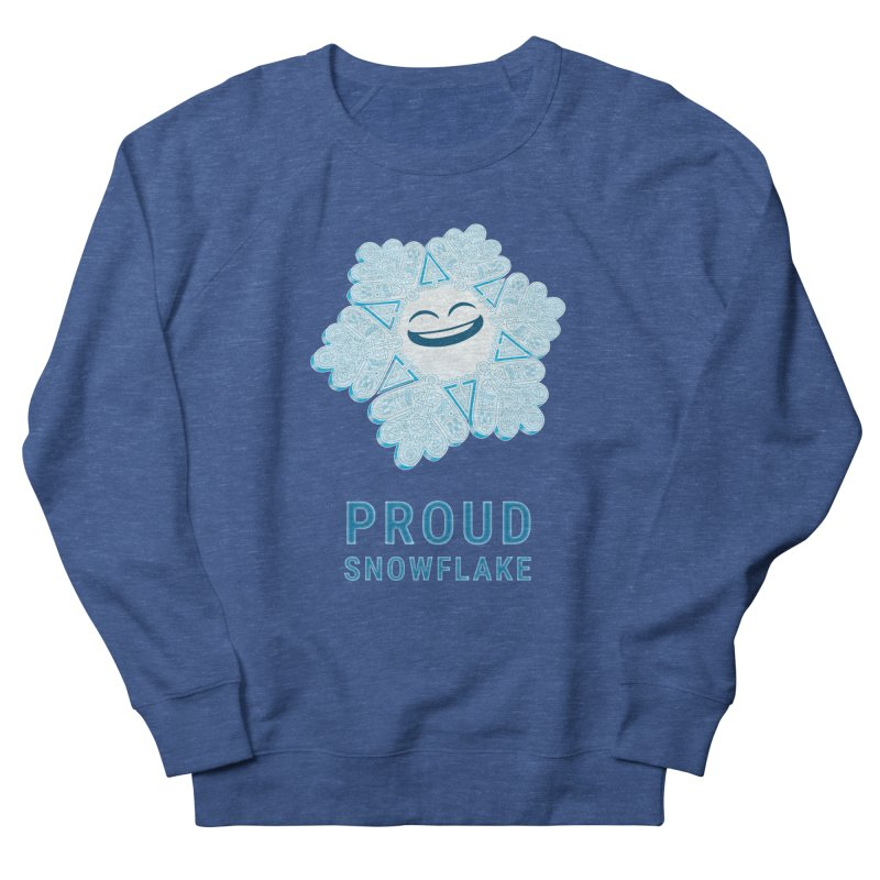 Proud Snowflake Women's Sweatshirt by BRETT WISEMAN