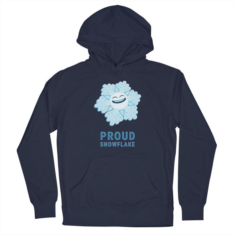 Proud Snowflake Men's Pullover Hoody by BRETT WISEMAN