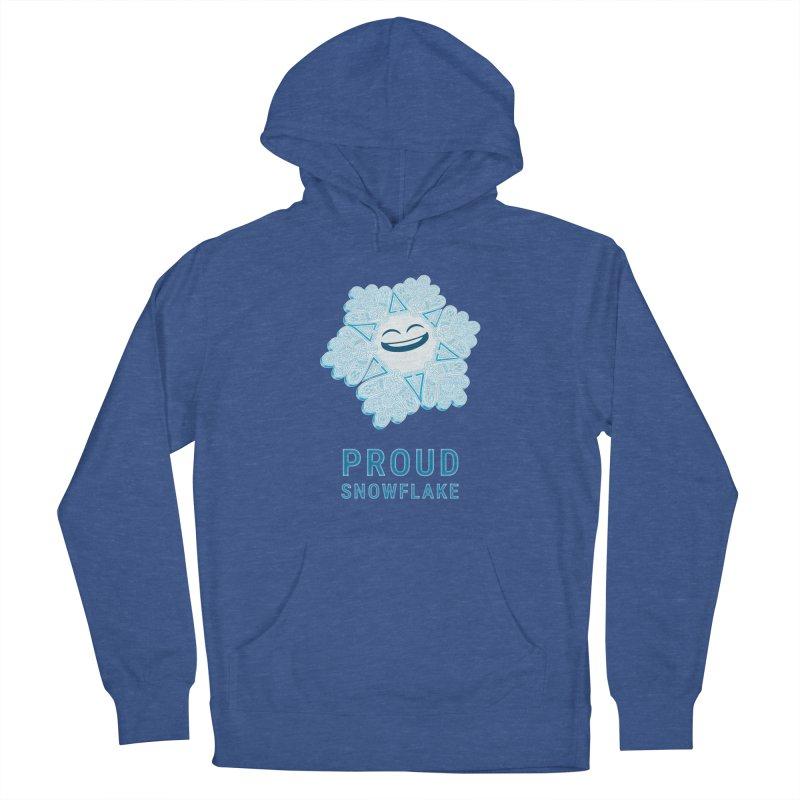 Proud Snowflake Women's Pullover Hoody by BRETT WISEMAN