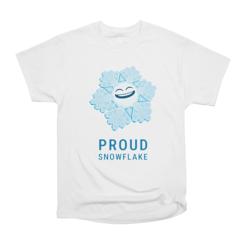 Proud Snowflake Men's Heavyweight T-Shirt by BRETT WISEMAN