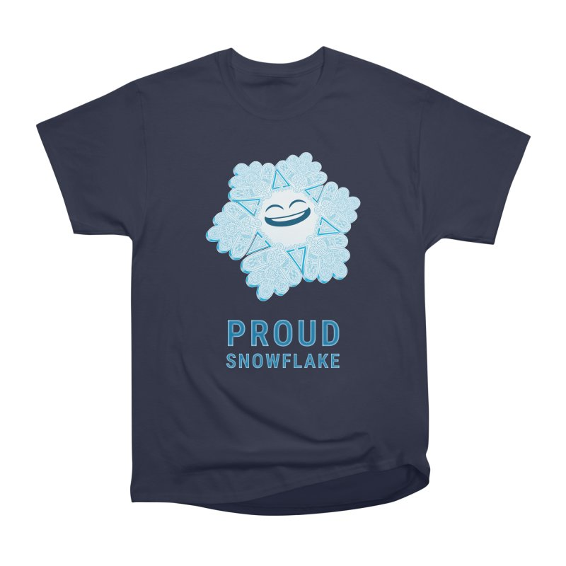 Proud Snowflake Men's Classic T-Shirt by BRETT WISEMAN