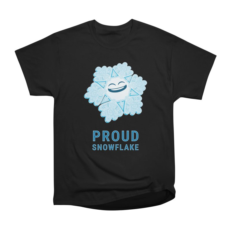 Proud Snowflake Women's Heavyweight Unisex T-Shirt by BRETT WISEMAN