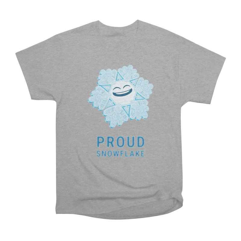 Proud Snowflake Men's Heavyweight T-Shirt by BRETT WISEMAN