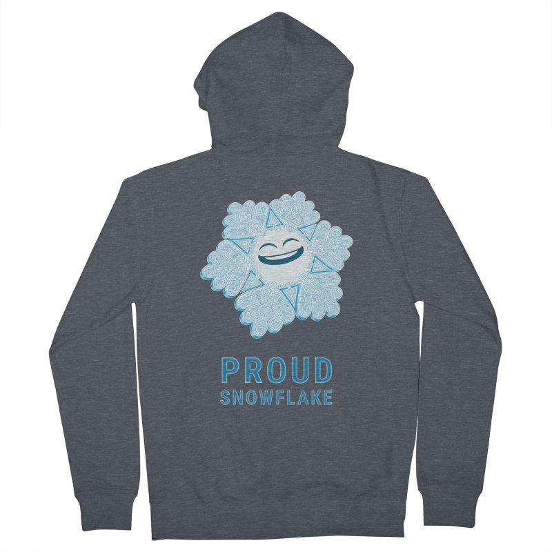 Proud Snowflake Women's Zip-Up Hoody by BRETT WISEMAN
