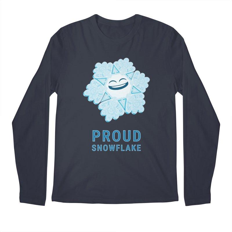 Proud Snowflake Men's Regular Longsleeve T-Shirt by BRETT WISEMAN