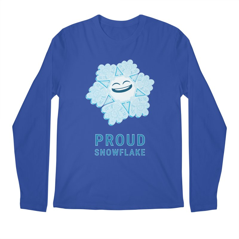 Proud Snowflake Men's Regular Longsleeve T-Shirt by BRETT WISEMAN