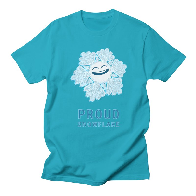 Proud Snowflake Women's Regular Unisex T-Shirt by BRETT WISEMAN